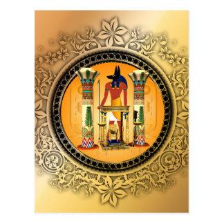 Postal Anubis, Egipto