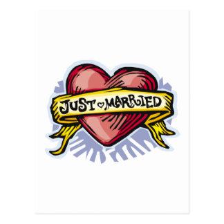 Postal Apenas casado