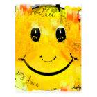 Postal Apenas otra cara sonriente