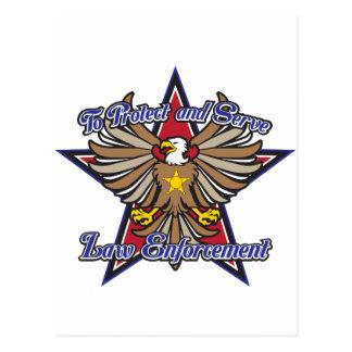 Postal Aplicación de ley Eagle