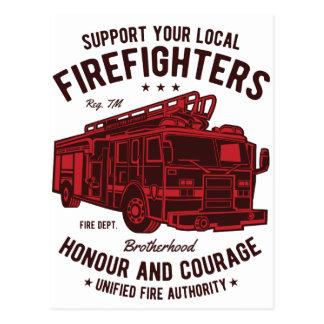 Postal Apoye a sus bomberos locales