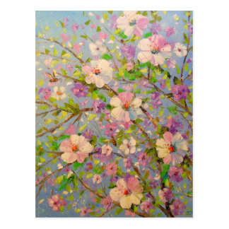 Postal Apple de florecimiento