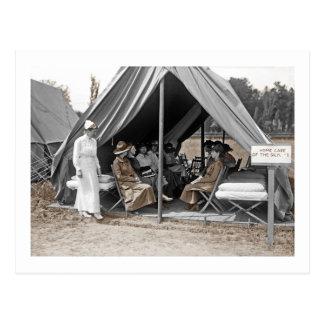 Postal Aprendices de la enfermera de WWI