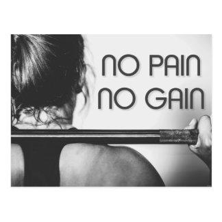 Postal Aptitud del Bodybuilding del gimnasio de