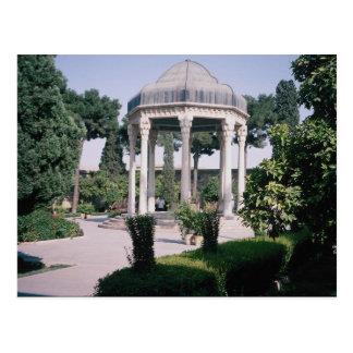 Postal Aragah e Hafez, tumba de un poeta importante que