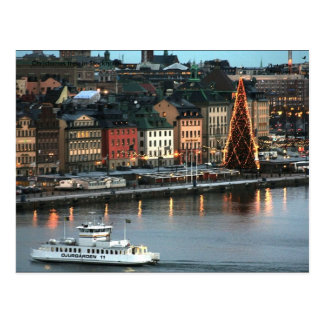 Postal Árbol de Christemas en Estocolmo, pH…
