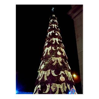 Postal Árbol de navidad enorme
