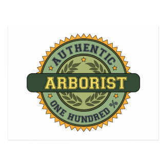 Postal Arborista auténtico