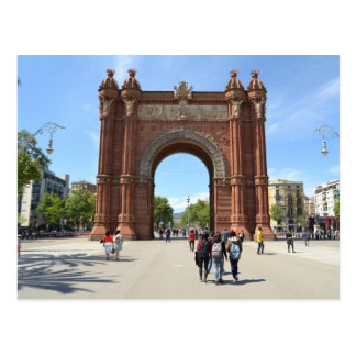 "Postal ""Arc de Triomf"", Barcelona"