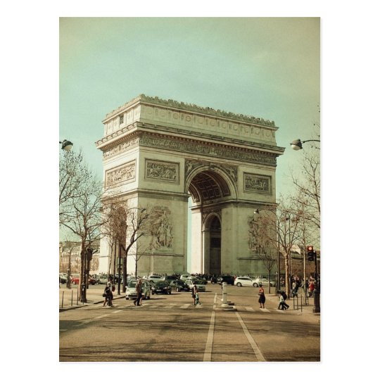 Postal Arc de Trionphe (Paris-France)