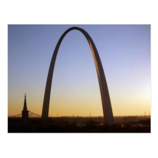 Postal Arco de la entrada, St. Louis, MES