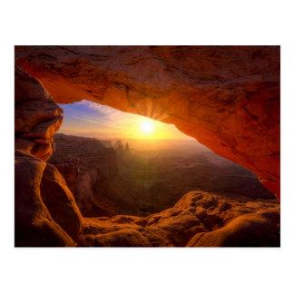 Postal Arco del Mesa, parque nacional de Canyonlands
