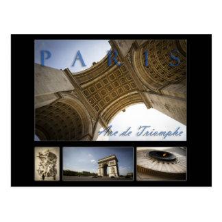 Postal Arco del Triunfo