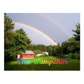Postal Arco iris de New Hampshire