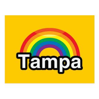 POSTAL ARCO IRIS DEL ORGULLO DE TAMPA LGBT