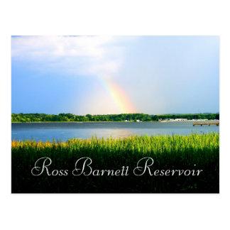 Postal Arco iris sobre el depósito de Ross Barnett