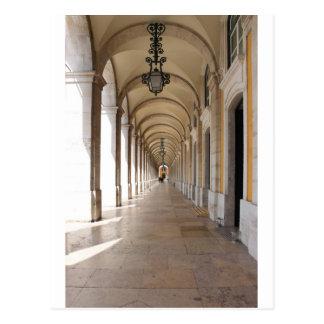 Postal Arcos de Lisboa