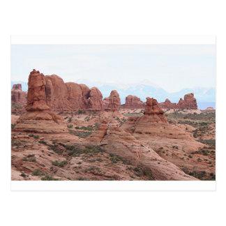 Postal Arcos parque nacional, Utah, los E.E.U.U. 12