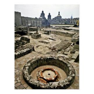 Postal Área ceremonial de alcalde de Templo, Ciudad de