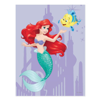 Postal Ariel y platija