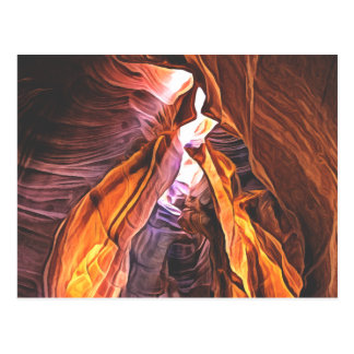 Postal Arizona espléndido y majestuoso - barranco del