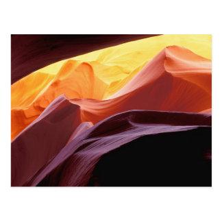 Postal Arizona, formaciones de la piedra arenisca del
