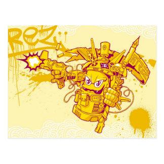 Postal Arma de aerosol de Graffit
