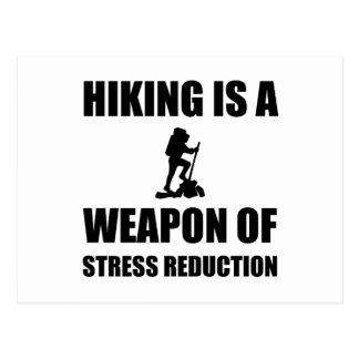 Postal Arma de caminar de la reducción del estrés