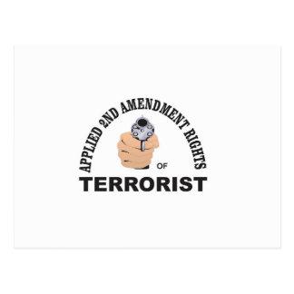 Postal arma y terrorista en los E.E.U.U.