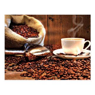 Postal Aroma del café