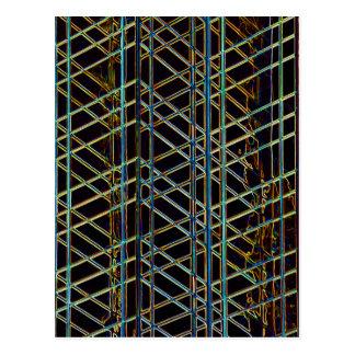 Postal Arquitectura abstracta