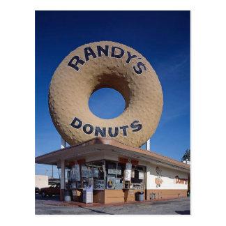 Postal Arquitectura de California de los anillos de