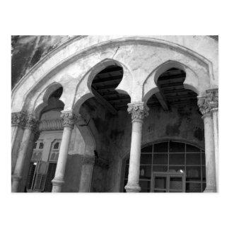 Postal Arquitectura gótica Bombay la India