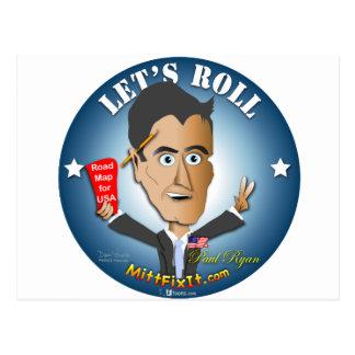 Postal Arreglo del mitón él - Paul Ryan