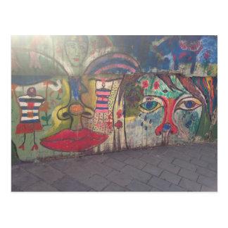 Postal Arte de la calle