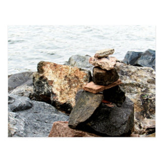 Postal Arte de la roca