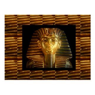 Postal Arte egipcio de los ídolos del VINTAGE: PIRÁMIDES