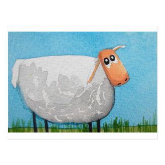 Postal Arte lindo de Gordon Bruce de las ovejas del