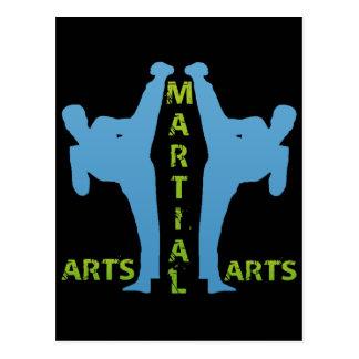 POSTAL ARTES MARCIALES