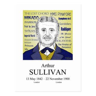 Postal Arthur Sullivan