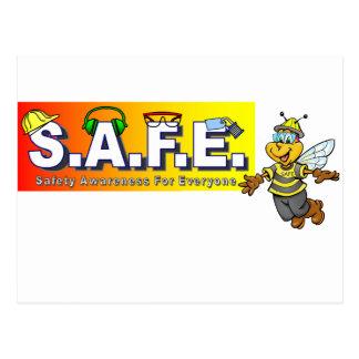 Postal Artículos de la conciencia de la seguridad