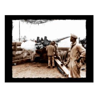 Postal Artilleros afroamericanos WWII