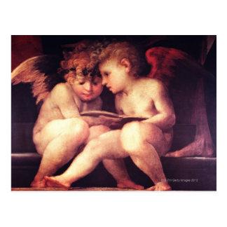 Postal Artista:  Rosso Fiorentino, siglo XVI