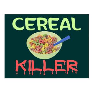 Postal Asesino del cereal