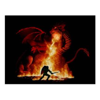 Postal Asesino del dragón de Bordox