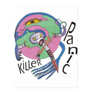 Postal Asesino del pánico