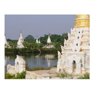 Postal Asia, Myanmar (Birmania), Mandalay. Un budista