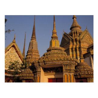 Postal Asia, Tailandia, Bangkok, Wat Po, ciudad más vieja