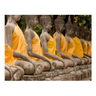 Postal Asia, Tailandia, Tailandia, Buddhas en Ayutthaya