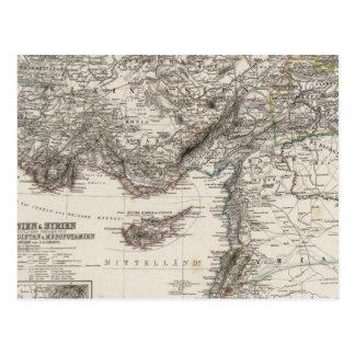 Postal Asia y Siria occidentales